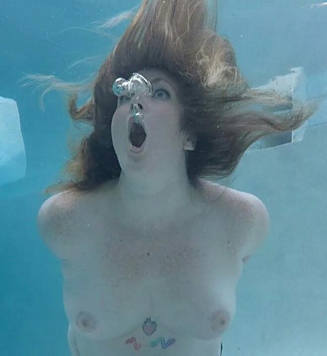 Underwater sex movies drowning